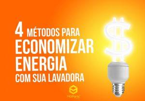 4 métodos de economizar energia
