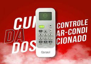 cuidados com controle de ar condicionado