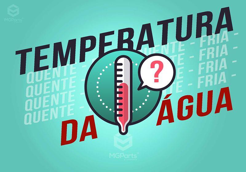 temperatura da água da máquina