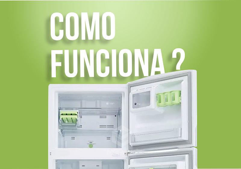 geladeira frost free aberta