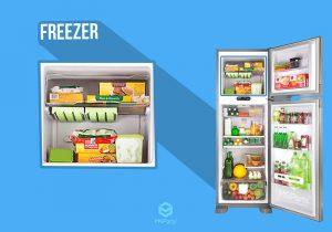 Como organizar o freezer da geladeira