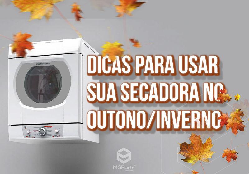 Dicas para usar secadora no outono e inverno