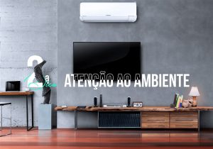 imagem de uma sala grande com ar condicionado