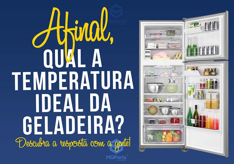 Foto de geladeira aberta com diversos alimentos dentro